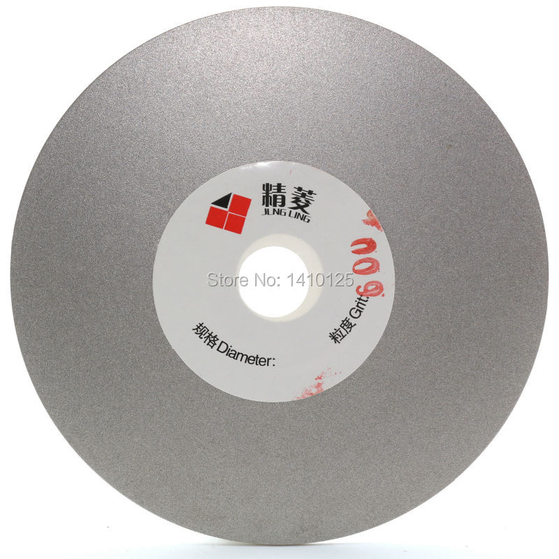 4 inch Grit 600 Fine Diamond Grinding Disc Wheel Coated Flat Lap Disk Lapidary Tools for Sharpening Diamond Blades Gemstone free shipping coarse medium fine grit 4 inch diamond turbo cup wheels m14 thread for grinding concrete and stone 3pcs set