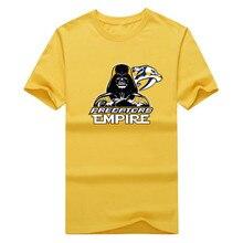2017 New 100% Cotton Predators Empire T-shirt Star Wars Darth Vader Nashville T Shirt 0105-19