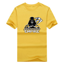 2017 New 100% Cotton Predators Empire T-shirt Star Wars Darth Vader Nashville T Shirt 0105-19