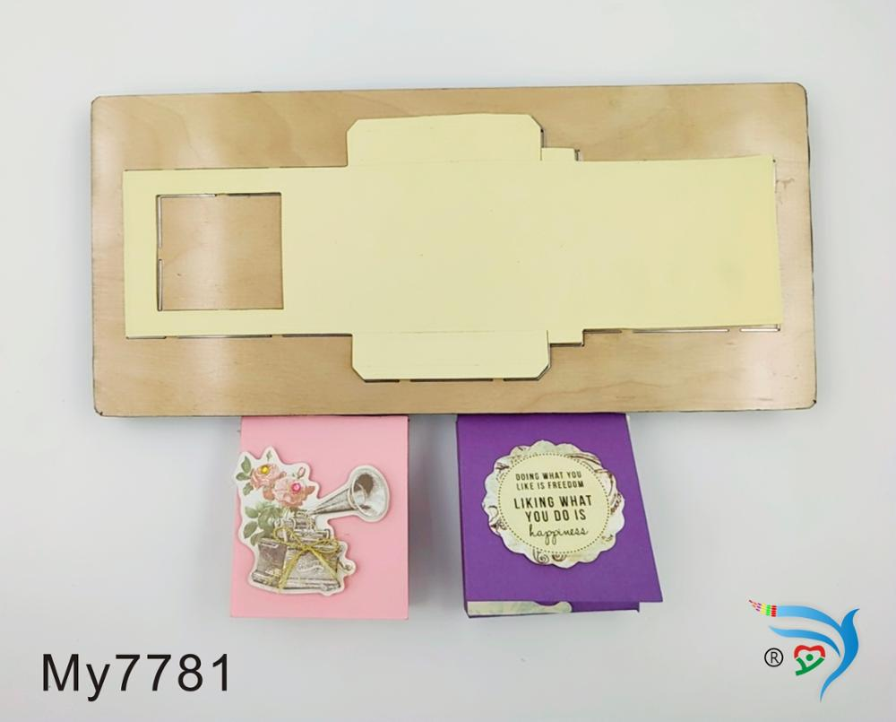 chocolate sauce box muyu cutting die new wooden mould cutting dies for scrapbooking Thickness 15 8mm