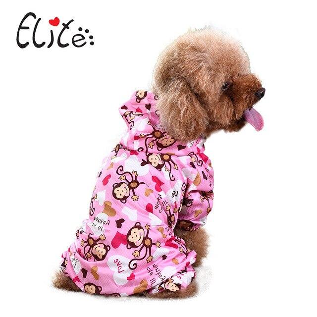 Elite Dog Raincoat Pet Waterproof Clothes 1