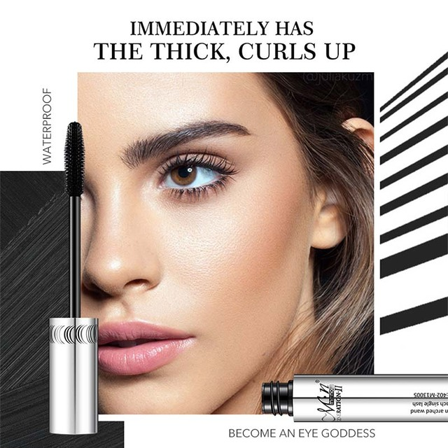 Menow Brand Makeup Curling Thick Mascara Volume Express False Eyelashes Make Up Waterproof Cosmetics Eyes Para Lash Gel Makeup 1