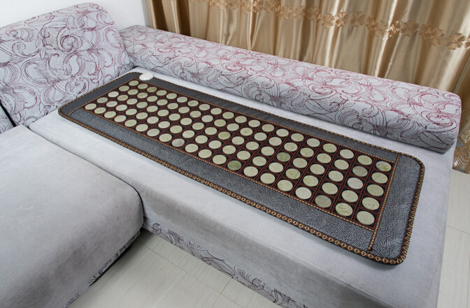 Free Shipping for Health Care Jade Sofa Cushion Heated Sofa Cushion Germanium Stone Sofa Cushion Physical Therapy Mat best selling korea natural jade heated cushion tourmaline health care germanium electric heating cushion physical therapy mat