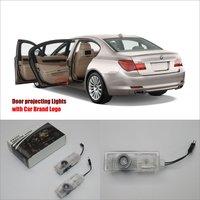 Car Door Ghost Shadow Lights For BMW E65 E66 E67 E68 2003 2008 Courtesy Doors Lamp