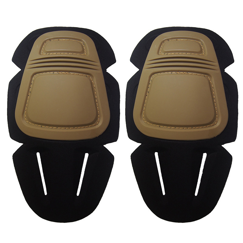 2PCS Military Tactical Protective Knee Pad Support Airsoft Paintball Combat Knee Protector Hunting Skate Scooter Knee Pads