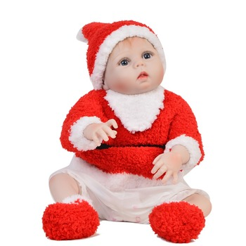 "Bebes reborn 23""57cm Full silicone reborn baby doll realisitc newborn girl child gift toy dolls can bathe boneca reborn"