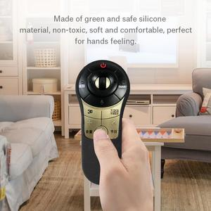 Image 5 - Dustproof green and safe Silicone  Remote Controller Protective Cover for LG MR400/ LA6150/ 6500 TV