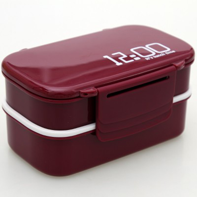 Microwavable Lunch Boxs Plastic Travel Portable