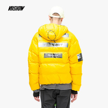 VIISHOW White Duck Mens Down Jacket Brand Winter For Men Doudoune Homme 2018 Printed Coat YC2213184