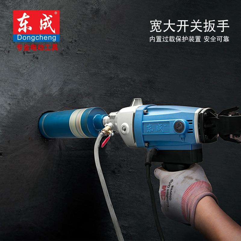 90 mm-es gyémántmag fúró vízforrással (kézi) 1350W betonfúró - Elektromos kéziszerszámok - Fénykép 2