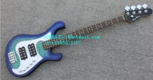 new Big John 4 strings stickers electric bass guitar in blue with basswood body  LL-32  free shipping