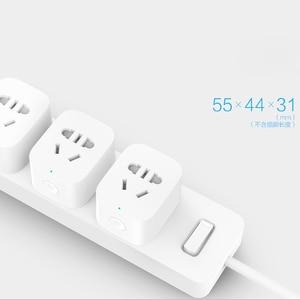 Image 4 - 2019 New Arrive Xiaomi Mijia WiFi Mi Smart Socket Plug WiFi Version Wireless Remote Socket Adaptor Power on and off with phone