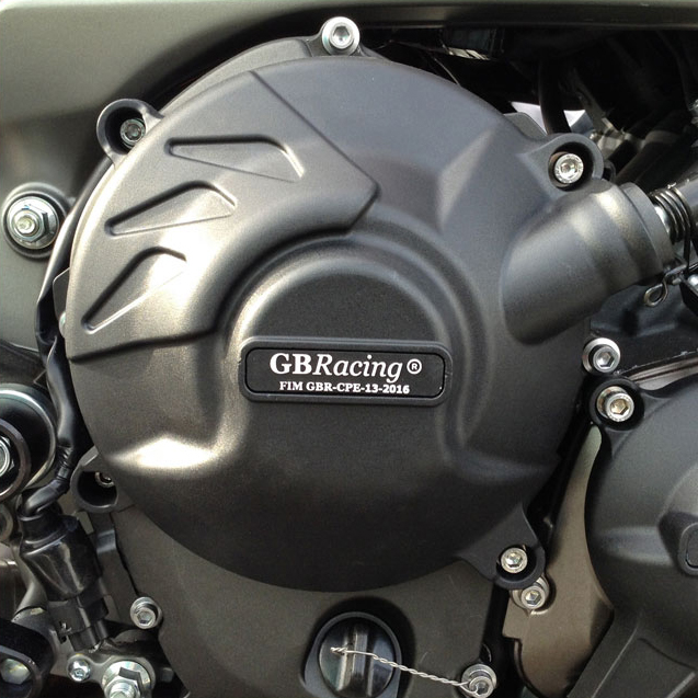 Motocicletas de la cubierta del motor de protección caso para el caso GB de carreras para YAMAHA MT09 FZ09 2014-2019 motor CoversProtectors - 3