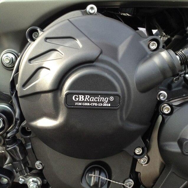 Motos Moteur couverture Protection cas pour cas GO Racing Pour YAMAHA MT09 FZ09 2014-2019 Moteur CoversProtectors - 3