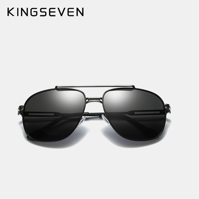 KINGSEVEN Brand Classic Polarized Sunglasses Men Driving Alloy Frame - Apparel Accessories - Photo 4