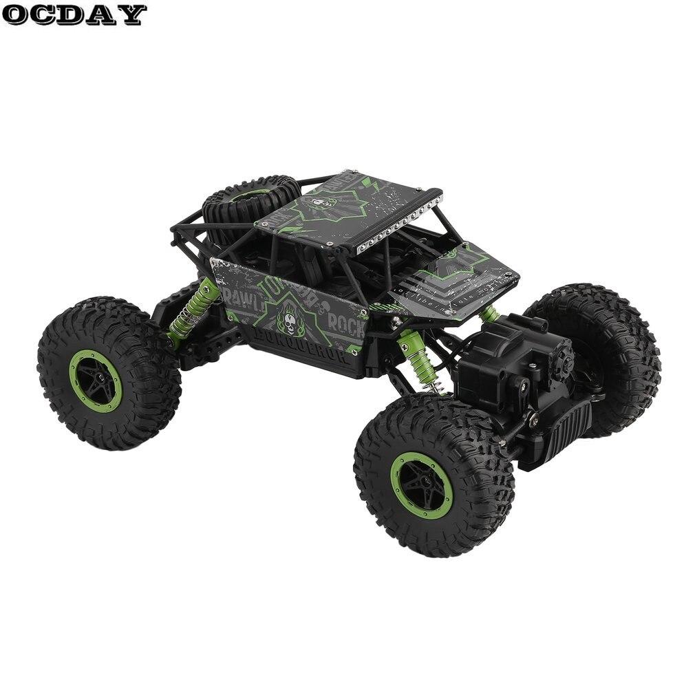 RC Car 2.4G 4CH 4WD Rock Crawlers Driving Car Double Motors Drive Bigfoot Remote Control Car Model Off-Road Vehicle Toy EU Plug