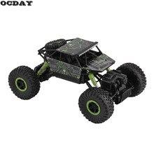 RC автомобилей 2,4 г 4CH 4WD рок сканеры для вождения автомобиля Double моторы йети дистанционного Управление модель автомобиля Off- внедорожник игрушка ЕС Plug