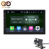 4GB 32GB 10 1 Universal 1024 600 Intel Car Stereo GPS Navigation System Android 6 0