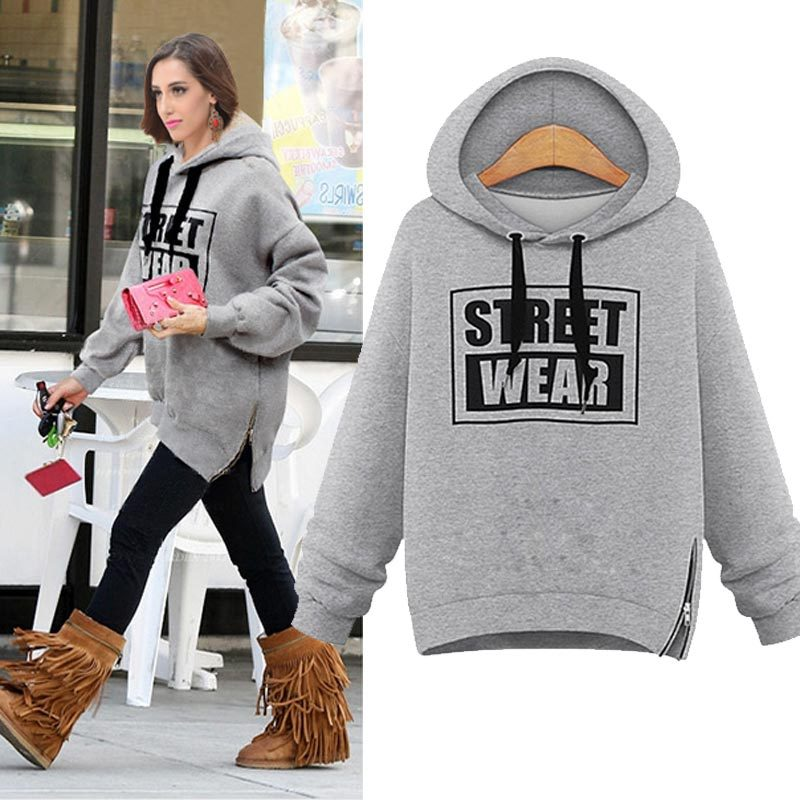 Popular Womens Grey Hoodie-Buy Cheap Womens Grey Hoodie lots from ...