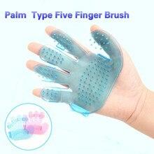 Five fingers bath massage brush pet beauty cleaning products five shampoo comb