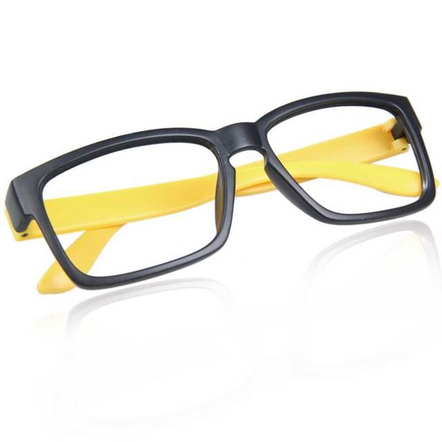 efd07e8b27367 Lindo Unisex Armações de óculos Sem lente Óculos de Armação Hipsters  Decorativa