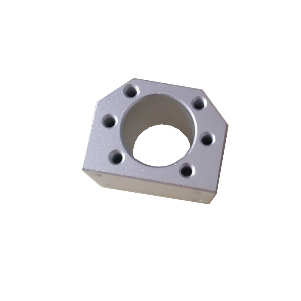 <font><b>ballscrew</b></font> <font><b>nut</b></font> housing bracket holder for SFU1604 SFU1605 SFU1610 Aluminium Alloy Material <font><b>1605</b></font> ball screw image
