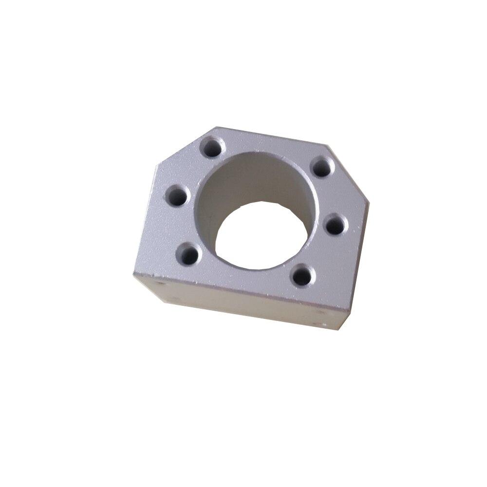 Ballscrew Nut Housing Bracket Holder For SFU1604 SFU1605 SFU1610 Aluminium Alloy Material  1605 Ball Screw