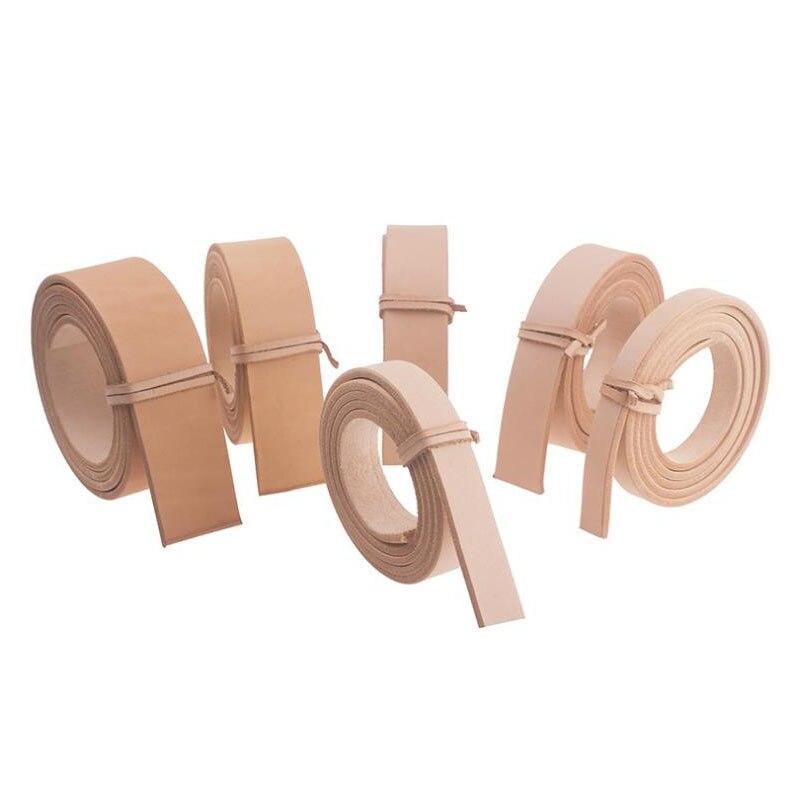 Натуральная Воловья кожа приклада ремень дубления кожаный набор «сделай сам» для кожаного изделия 100-120 см Length1.4 ~ 3,9 см Ширина 0. 35-0,4 см Толщин...