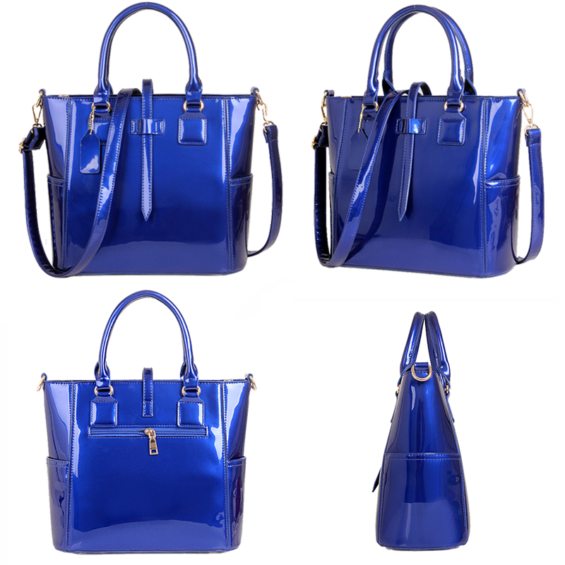 Women handbag luxury leather 2019 Women Bag Famous Brand Women Messenger Bags Chain Shoulder Bags 3 Sets Big Size Tote Hot Sale Islamabad