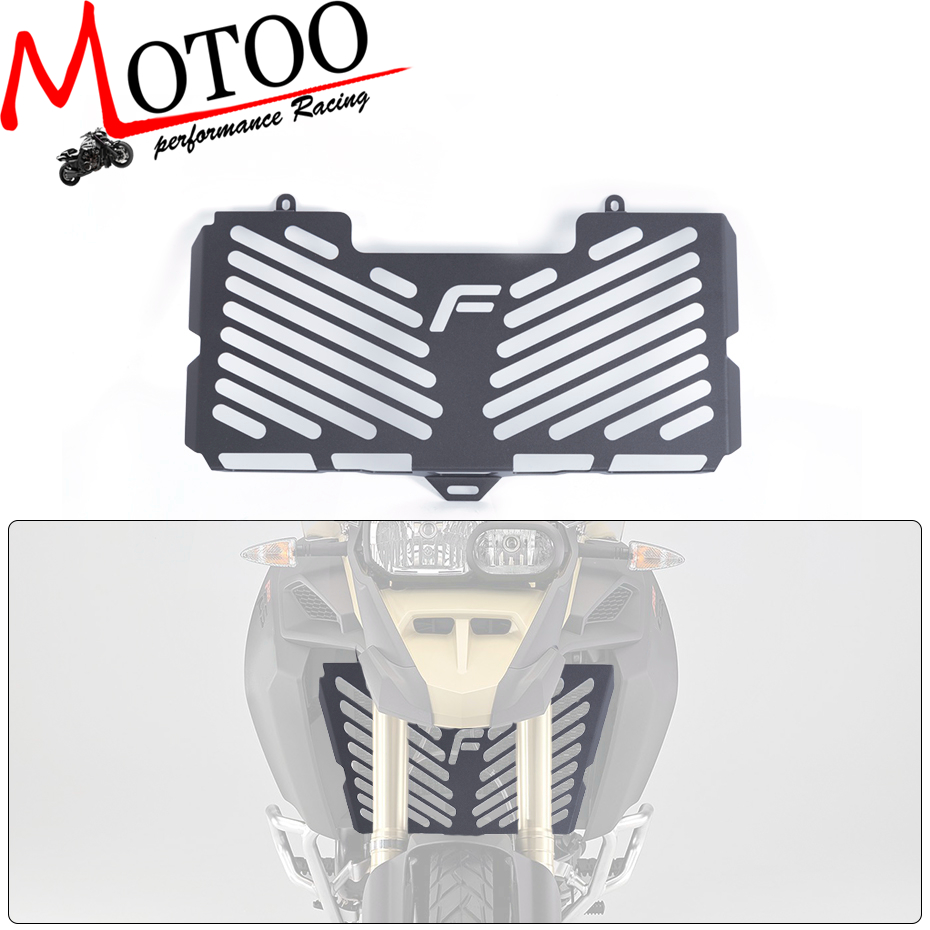 Motoo - Free Shipping Stainless Steel Motorcycle Radiator Guard Cover Protector FOR BMW F800R F800S F800 R/S F800GS 2008-2016 motorcycle radiator grill grille guard screen cover protector tank water black for bmw f800r 2009 2010 2011 2012 2013 2014
