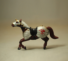 Wholesale 1:18 Simulation Animal Model Toy Battle Steed Soldier War Horse Classic Toy Figure PVC Collectible Model Toy
