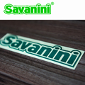 Savanini lOGO 1 pcs Nuovo Stile Adesivi Styling Auto Accessori di Personalità Impermeabile