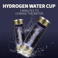 Portable SPE Rich Hydrogen Water Generator Electrolysis Antioxidant Hydrogen Water Ionizer Maker Alkaline Water Pitcher Bottle