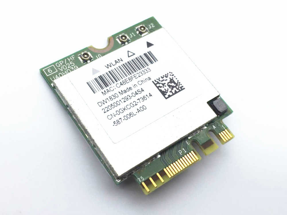 BCM943602BAED DW1830 Ac NGFF 1300Mbps BT4.1 0HHKJD HHKJD WiFi Wireless Network Card BCM94360