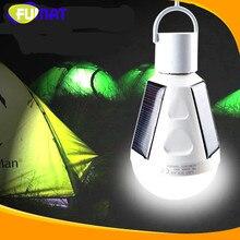 Портативный E27 7 Вт 12 Вт светодиодные лампочки солнечной зарядки аварийное Глобусы лампа кемпинг Рыбалка свет 85 В -265 В Солнечная Светодиодные лампы