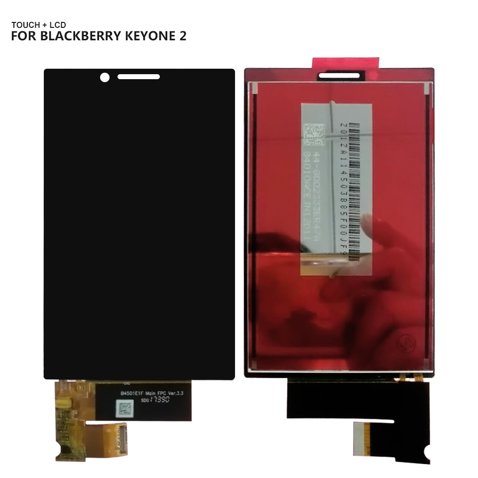 For Blackberry Keyone 2 Touch Screen Digitizer Lcd Display Black Assembly For Blackberry Key 2 LCD + ToolsFor Blackberry Keyone 2 Touch Screen Digitizer Lcd Display Black Assembly For Blackberry Key 2 LCD + Tools