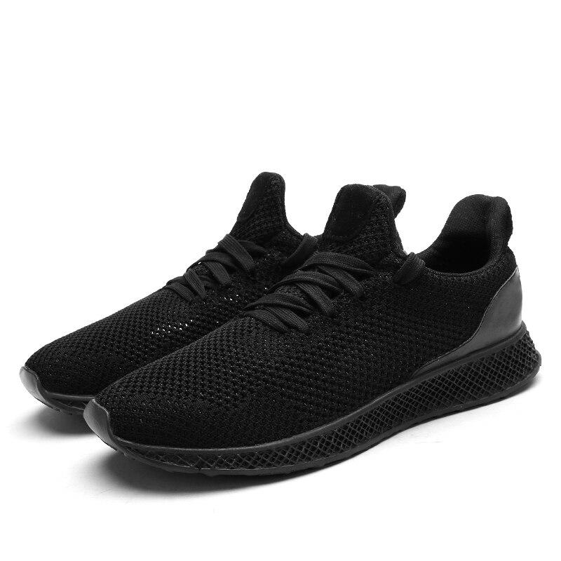 2018 respirant hommes casual chaussures nouveau confort hommes maille chaussures chaussures de marche hommes plat mode chaussures pour hommes
