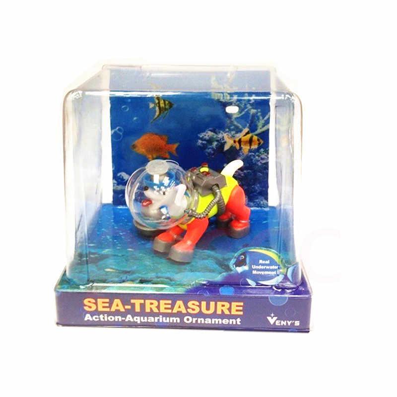 E Dog Aquarium Decoration Fish Tank
