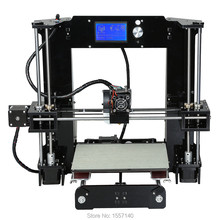 RU/US/DE Stock ! Reprap I3 3D Printer DIY KIT 220*220*250mm LCD Screen 12864 220*220*250mm