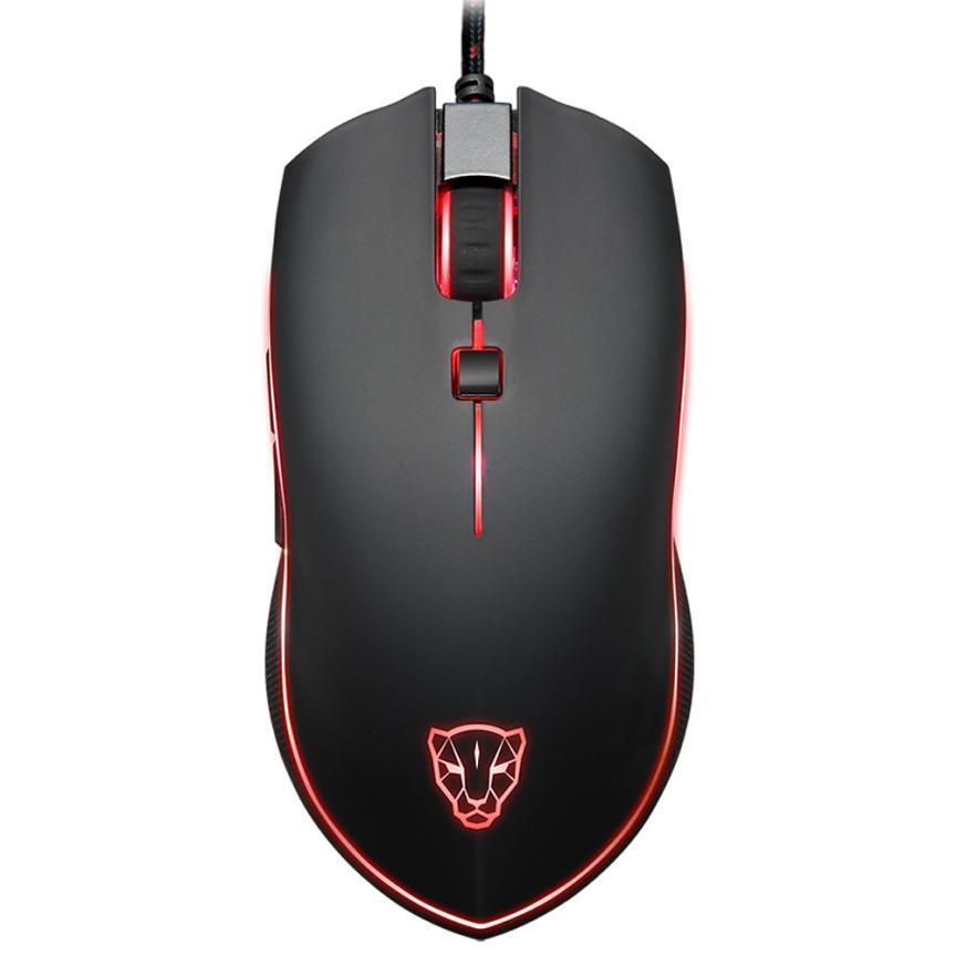 EC2 HIPERDEAL Fashion Gaming Mouse Motospeed V40 4000 DPI 6 Buttons Breathing LED Optical Wired Gaming Mouse for PC Gamer Jun11 sunsonny t m30 usb wired 6 button 600 1000 1600dpi adjustable led gaming mouse golden red