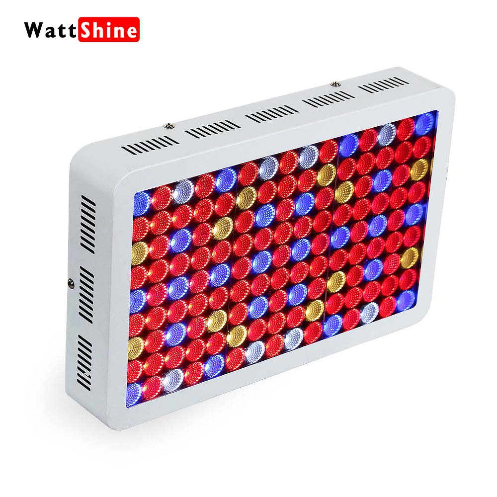Full spectrum 1800W 1350W 900W led grow light Double chip 10W for Indoor plants lamps Hydroponics lighting High PAR Value