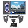 Panormic WEIVISION 360 Vista de pájaro grabación DVR Del Coche sistema de visión, vista de los alrededores para el Benz C grado E, clase C, GLK, ML GL