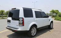 Full Set Aluminum Side Door Step Running Board For LAND ROVER LR4 Discovery 4 2011 2014