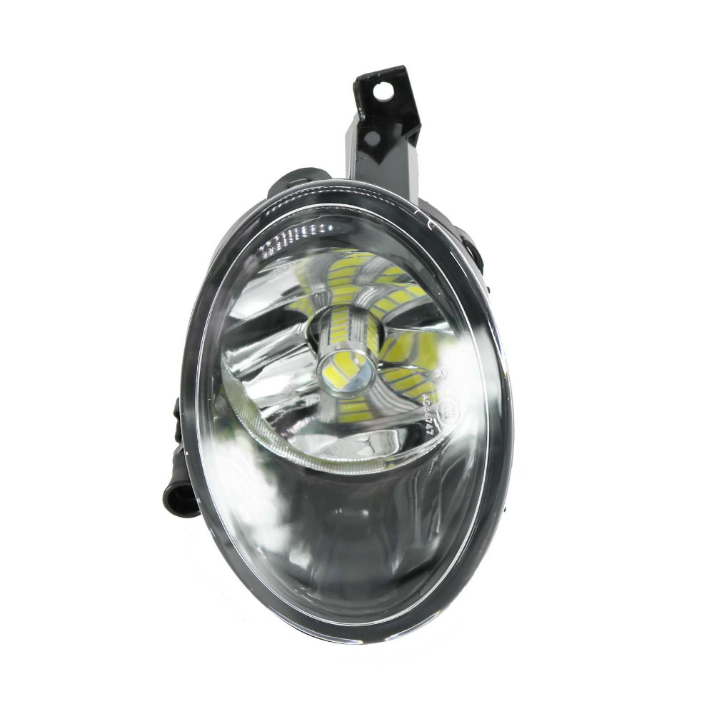 Car LED Light For VW Tiguan 2012 2013 2014 2015 2016 Right Side Front LED Fog Light Fog Lamp With LED Bulbs free shipping for vw touareg 2015 2016 new led car fog light fog lamp right side passenger side