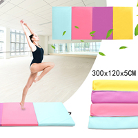 Foldable Gymnastics Mats Indoor Sports Folding Fitness Gym Exercise Yoga Mat Pad Outdoor Training Body Building Mattress