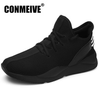 Brand Luxury Hot Sale Shoes Men Autumn Winter Fashion Designer Black Sneakers Breathable Casual Mens Shoes Lace up Man Trainers