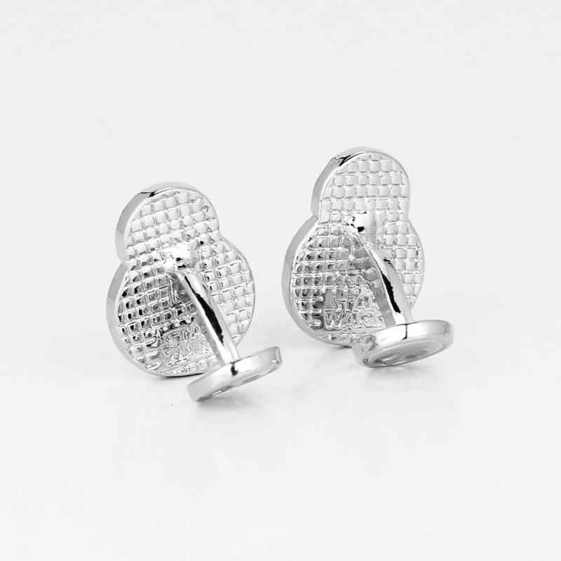 dongsheng Star Wars Vintage Pattern Cufflinks The Force Awakens BB8 BB-8 Droid Robot cuff buttons for Mens shirt Jewelry -40