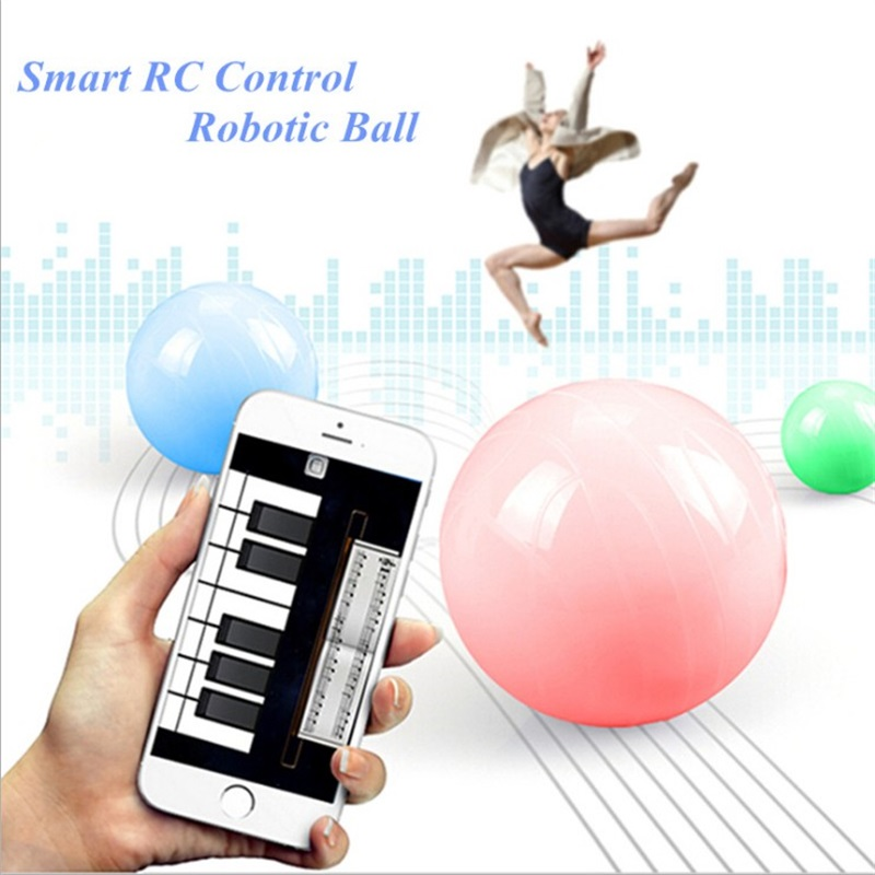 MJ Intelligent Sphero mechanical mobile phone Bluetooth control toy ball speaker variable color Bluetooth sound sphero ollie 2b smart ball bluebooth control white color freeshiping page 4