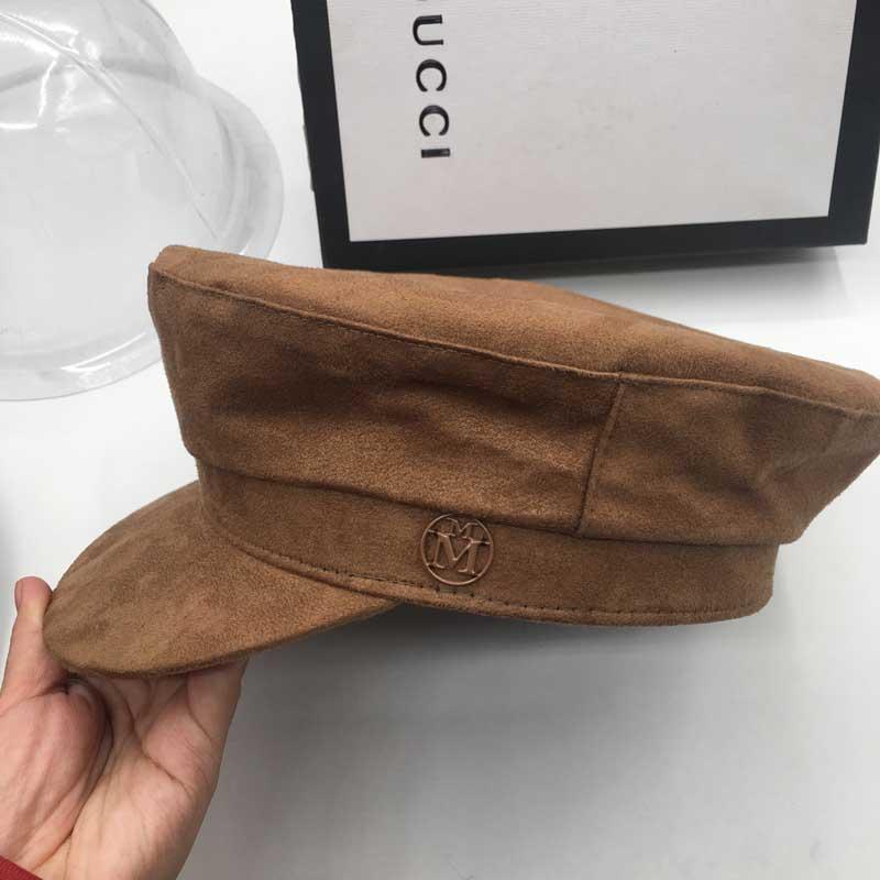 Бейсбольная кепка замшевая кепка потолок шляпа Вс-затенения отверстие-копать вырез