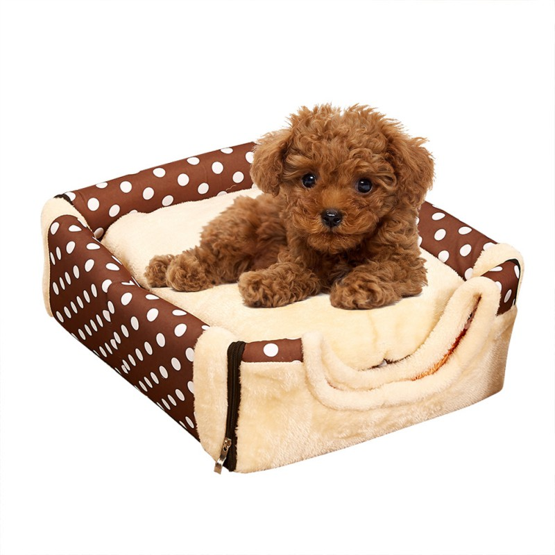 Pet Dog Bed Multifuctional Dog House Nest With Mat Foldable Cat Bed House For Small Medium Dogs Travel Pet Bed Bag Product
